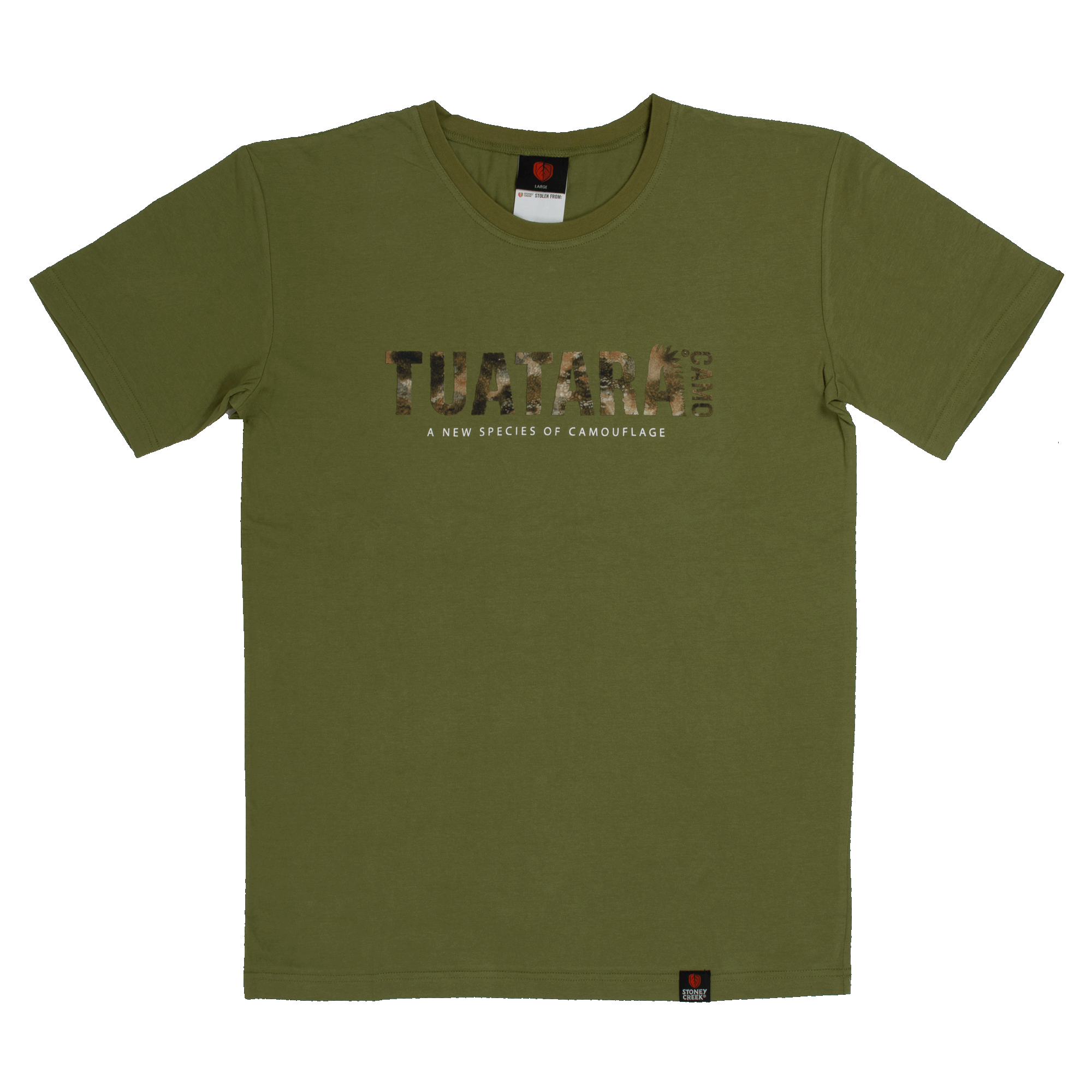 Men's Hunting Tuatara Camo Forest T-Shirt