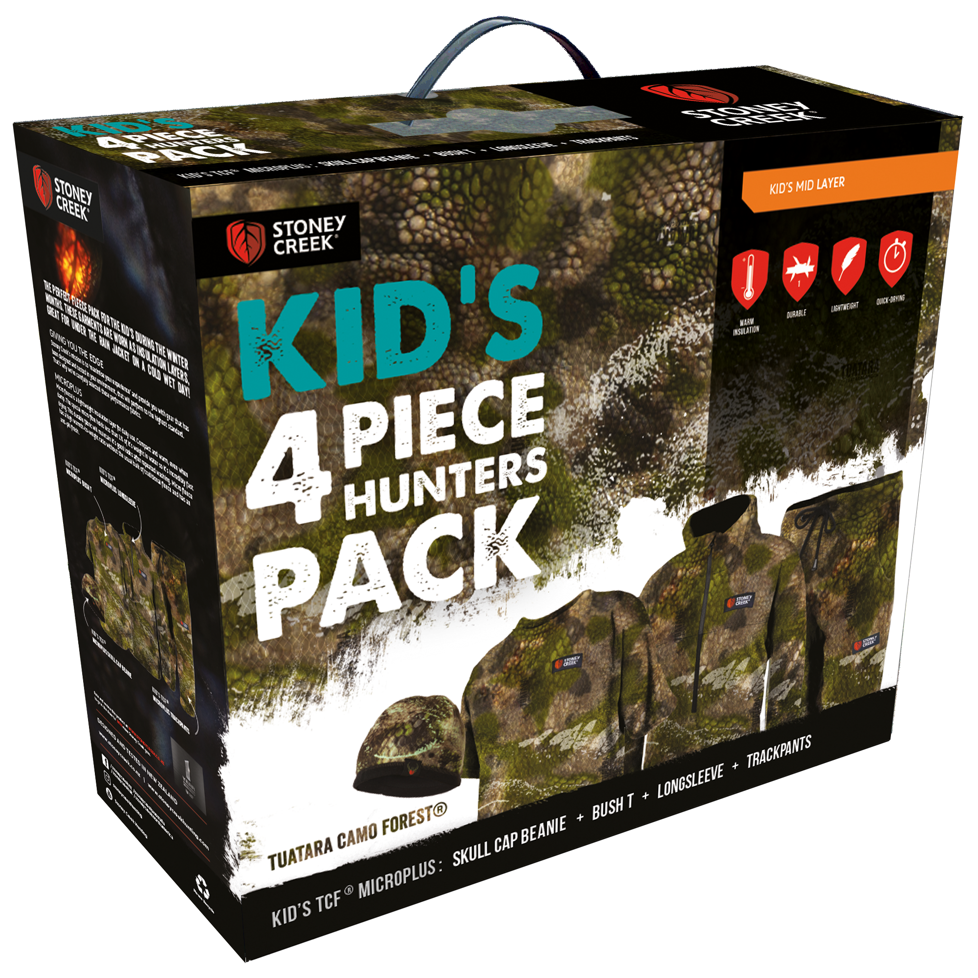 Kid's 4 Piece Hunters Pack